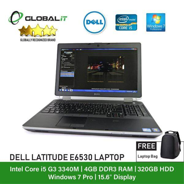 (Refurbished Notebook) Dell Latitude E6530 Laptop / 15.6 inch LCD / Intel Core i5-3340M / 4GB Ram / 320GB HDD / WiFi / Windows 7 Malaysia
