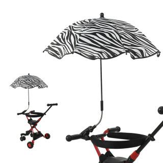Đồ Chơi Xe Đẩy Em Bé Buggy Umbrella Sun Sun Parasol 360 Độ Điều Chỉnh Cho Ngoài Trời thumbnail