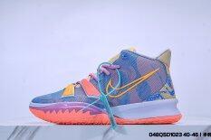 Giày Nam Kyrie7 Màu Cam Xanh Dương Mới 2020 Giày Thể Thao Đệm Thoải Mái Giày Bóng Rổ Thời Trang Cỡ: 40-46