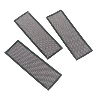 Minerally 3Pcs PVC Dust Filter Universal DIY Shield Back Plate For Computer Chassis I O thumbnail