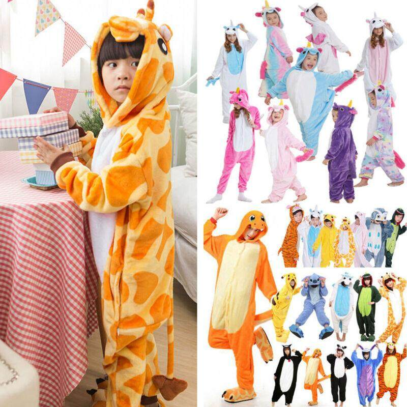 Giá bán Kid Adult Pajamas Kigurumi Anime Cosplay Costume Animal Onesi1 Sleepwear Clothes