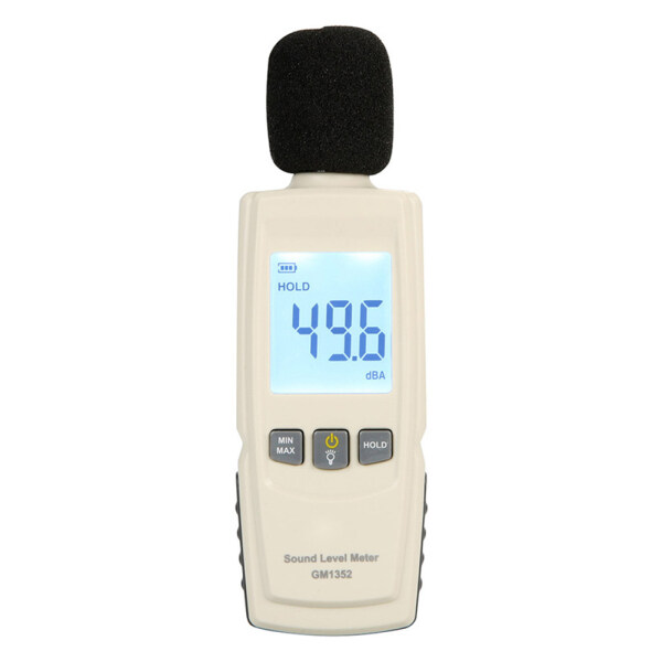 LCD Display Portable Digital Office Data Hold Noise Measurement 30-130dB Home Decibel Industrial Sound Level Meter