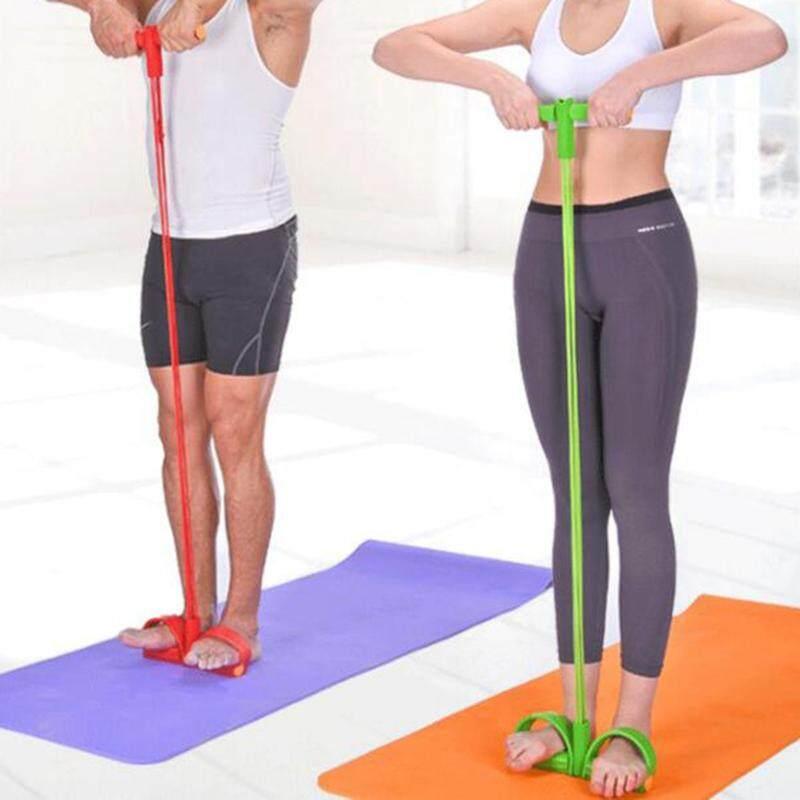Bảng giá Tập Thể Hình Kẹo Cao Su 4 Ống Dây Đàn Hồi Cao Su Bàn Đạp Tập Sit-up Kéo Dây Mở Rộng Dây Thun Tập Yoga Thiết Bị Pilates Tập Luyện