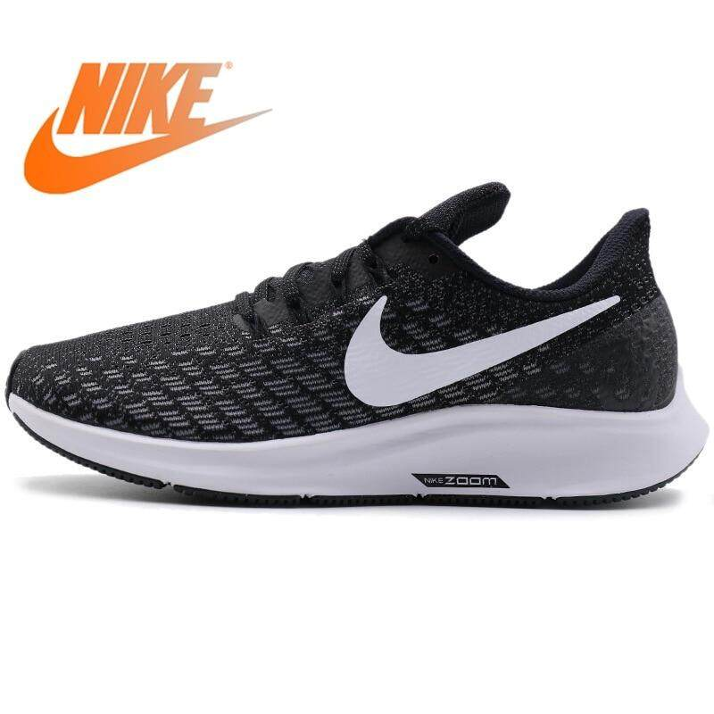 release date 1f50f f5e63 NIKE AIR ZOOM PEGASUS 35 Women s Running Shoes Sneakers outdoor Stability  Breathable Low-cut Daily
