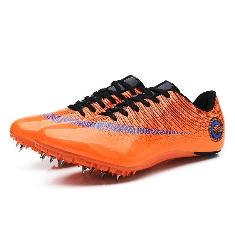 3f4215140 Man Spikes Shoes Athletics Spring Summer Lightweight Running Nails Sneakers  Male