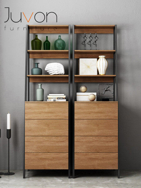 Modern Kitchen Sideboard Cheap Living Room Wood Storage Cabinet Simplified