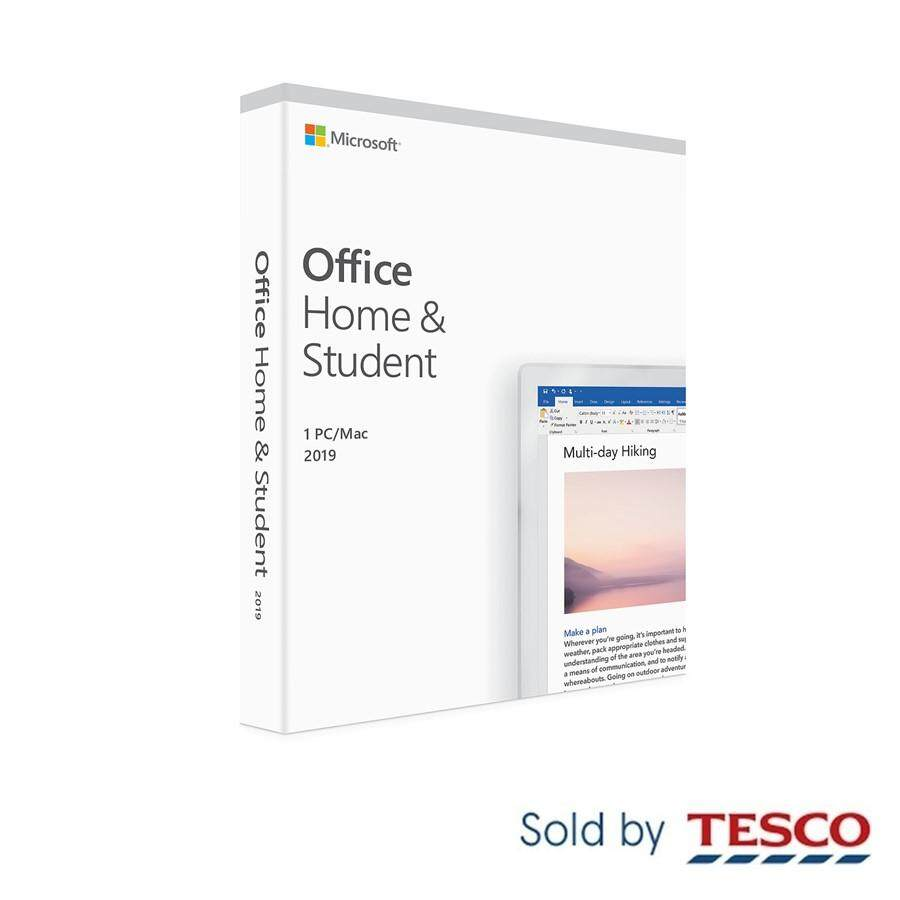 Microsoft Office Home and Student 2019 (For Windows & Mac - 1 PC/ Mac)