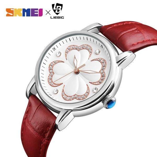 SKMEI LIEBIG Women Fashion Casual Watches Quartz Leather Elegant Waterproof Watch For Women L1002 Malaysia