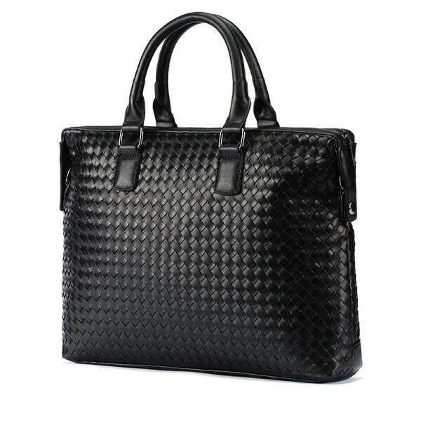 Royal Bagger Laptop Briefcase Handbag For Men High Quality Leather Business Fashion Cool Shoulder Bags Man Casual Bag