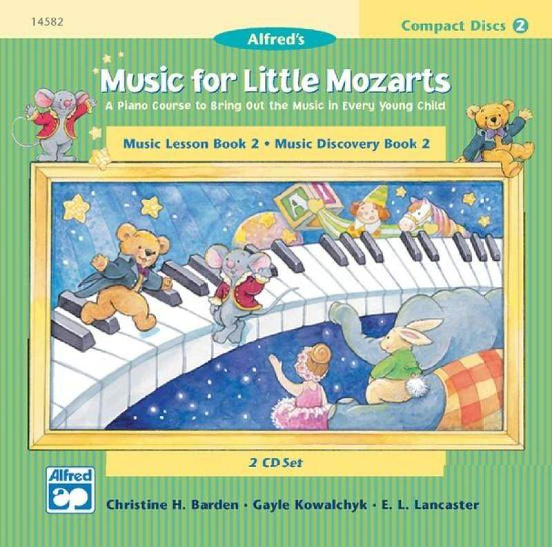 Music for Little Mozarts: CD 2-Disk Sets for Lesson and Discovery Books, Level 2 Malaysia