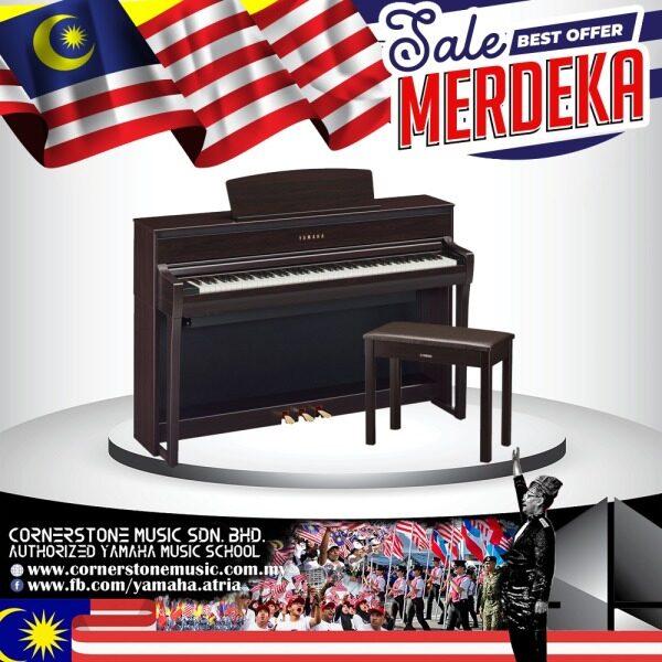 Yamaha Clavinova Digital Piano CLP-775 ( CLP775 / CLP 775 / CLP775R ) CLP-700 Series GrandTouch keyboard 88 keys Linear Graded Hammers with Built-in Bluetooth audio - R / RoseWood Cornerstone Music Malaysia