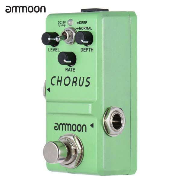 ammoon Nano Series Guitar Effect Pedal Analog Chorus True Bypass Aluminum Alloy Body Malaysia