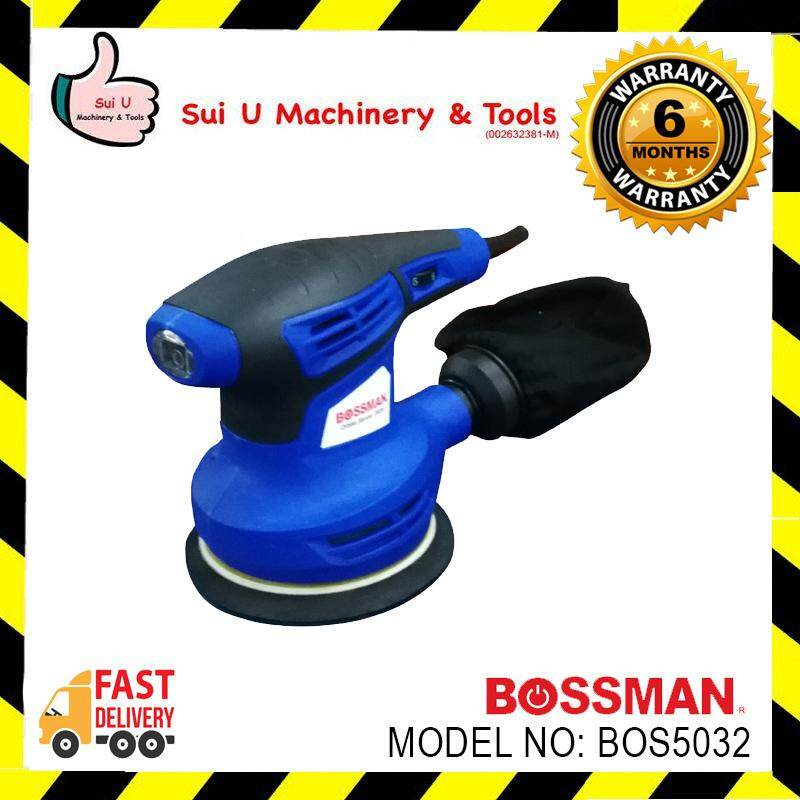 BOSSMAN BOS5032 Orbital Sander 280w foc sanding paper & dust collection bag