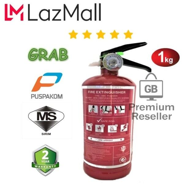 GB-Store 100%[Original] FIRE EXTINGUISHER 1KG, FREE GIFT LIMITED STOCK