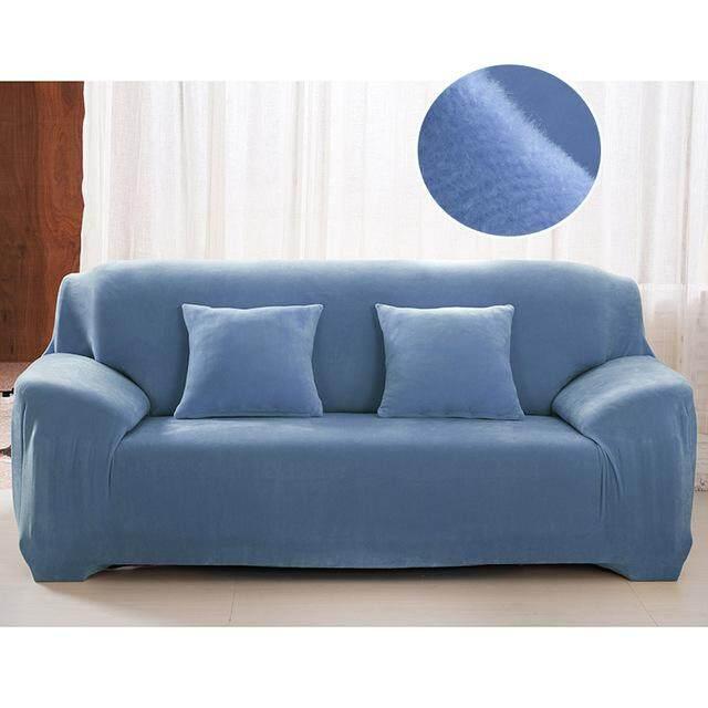 14 Colors Warm Thick Plush Recliner Sofa Covers Retro Recliner