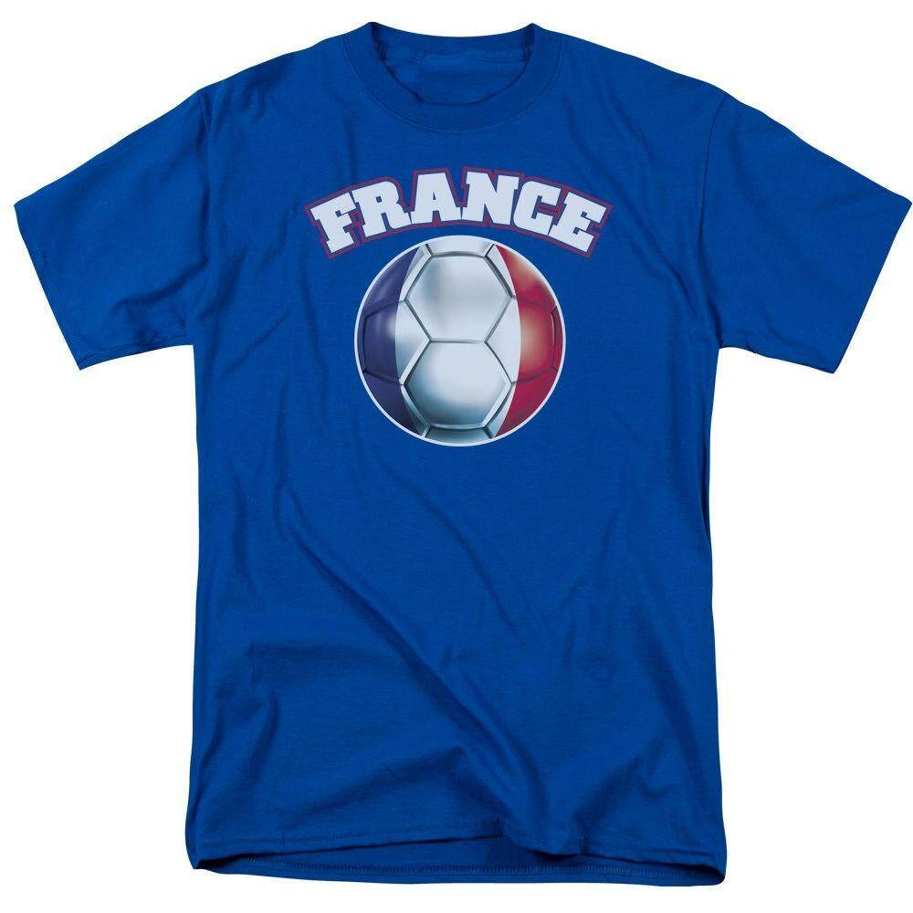 a57921114 Newest France Footballer Soccering French Flag Men Casual Cotton T Shirts