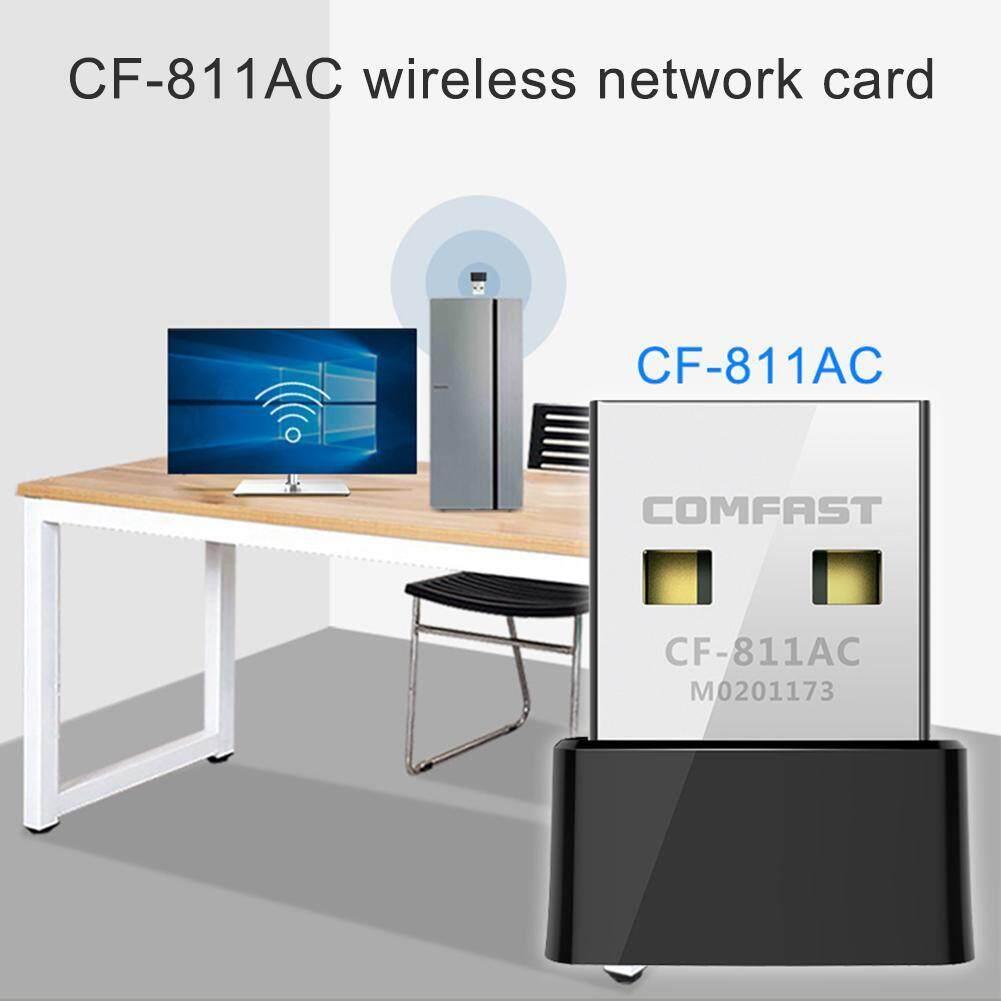 Giá Comfast CF-811AC 650Mbps Adapter USB 2.4 + 5.8 Ghz PC Mạng Dongle