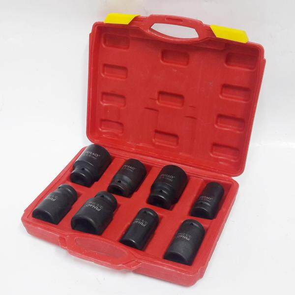 millionhardware - 8pcs 22-41mm 3/4 Drive Impact Socket Set 78mm / Dr Deep Impact Socket Set High Quality