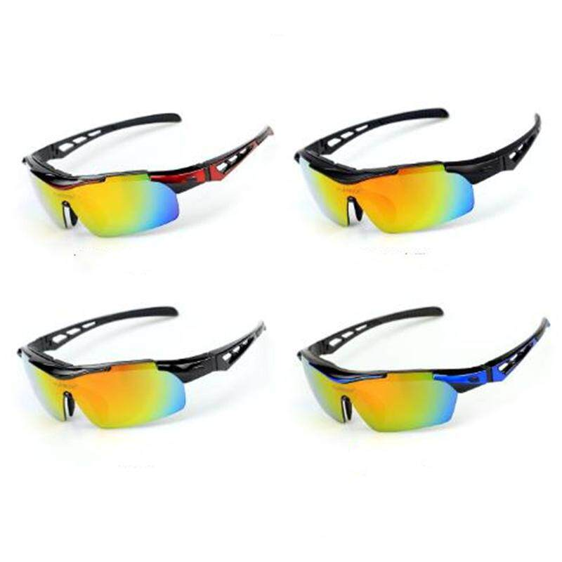 Outdoor cycling sports glasses polarized sandblasted fishing glasses