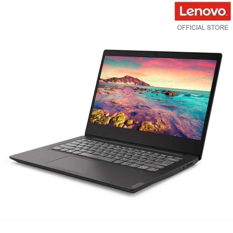 Lenovo Ideapad S145-14IWL 81MU001VMJ BLACK /14 HDTNAG, (CELERON, 4205U/4GB/500GB/INTEGRATED/W10) 1YEAR PREMIUM ONSITE WARRANTY- FREE TOP LOADER Malaysia
