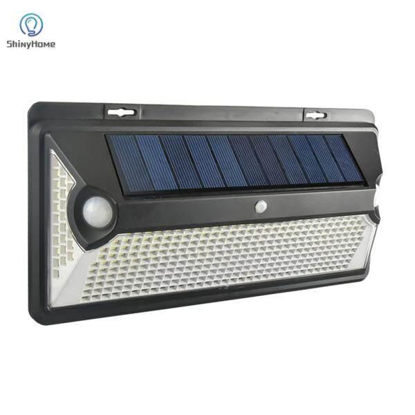 Đèn LED Năng Lượng Mặt Trời Ngoài Trời, Đèn Ngủ Treo Tường Cảm Biến Chuyển Động PIR Đường Phố Không Thấm Nước