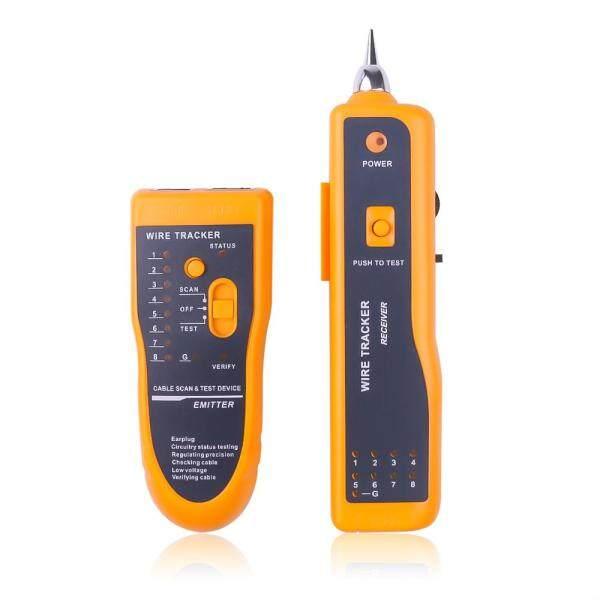 LAN Network Cable Tracker RJ11 RJ45 Cat5 Cat6 Telephone Wire Tracker Tracer Toner Ethernet LAN Line Finder Tool