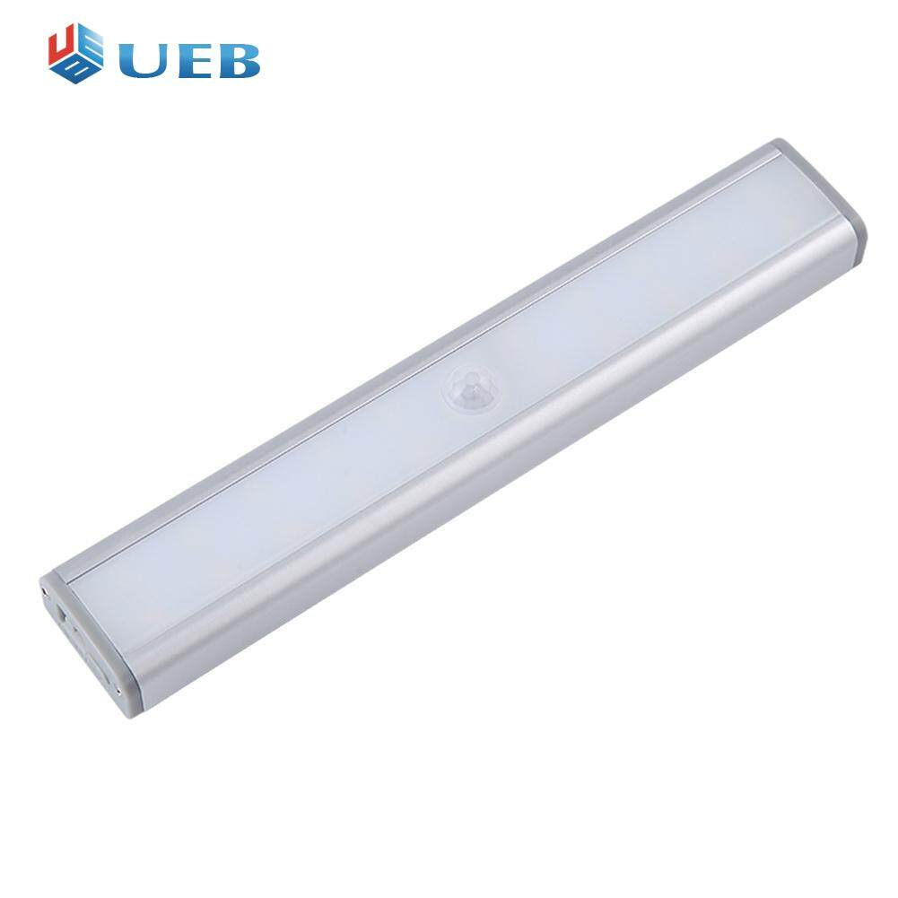 20 LED PIR Sensor Cabinet Light USB Charging Dimmable Lamp Bar for Closet