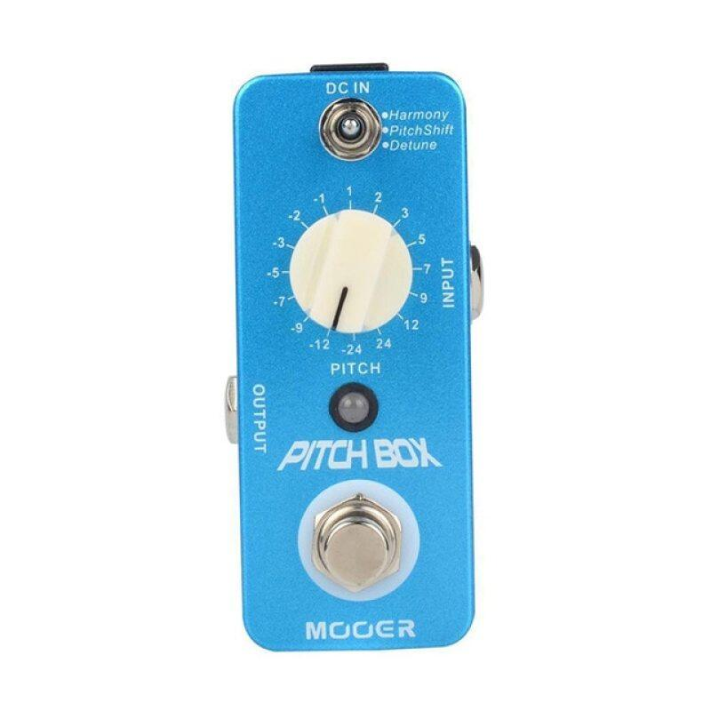 MOOER Pitch Box Compact Effect Pedal Harmony Pitch Shifting Detune 3 Mode True Bypass Guitar Pedal with Pedal Connector Malaysia