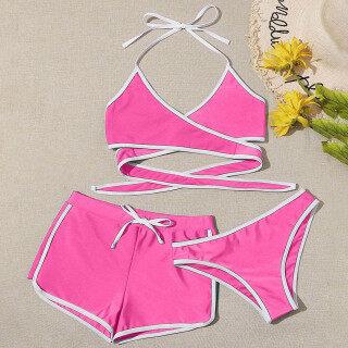[Bán Chạy] Bộ Ba Món Cho Nữ Mùa Hè Showvie Hàng Đầu, Đồ Bơi Thời Trang Beachwear Bikini thumbnail