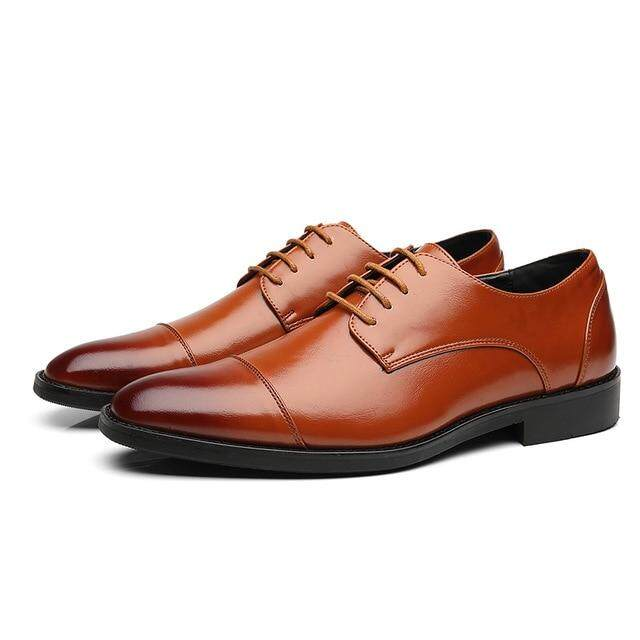 Shoes Men's Shoes 2018 High Quality Leather Business Casual Shoes Men Dress Office Luxury Shoes Male Breathable Oxfords Men Formal Shoes