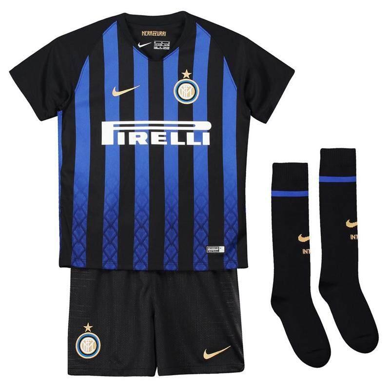 9c9ff074191 SerieA Inter Milan 18-19 children sports jersey kid home Uniforms shirt  pants shorts