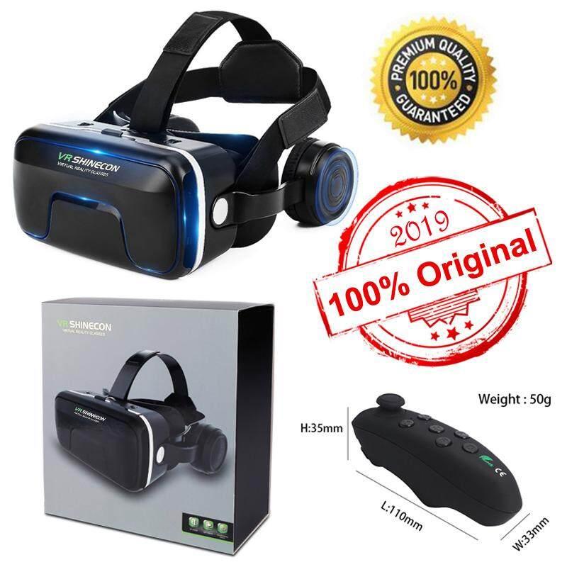 Giá Bán Chạy Nhất [[Hội Nghị Thượng Đỉnh Phòng Thu] 3D VR Kính Thực Tế Ảo Tai Nghe Cho 3D Phim & VR Trò Chơi Với Âm Thanh Nổi có Thể Điều Chỉnh Tai Nghe Tương Thích Với 4.7-6.4 Inch Tất Cả IOS Android Điện Thoại Thông Minh