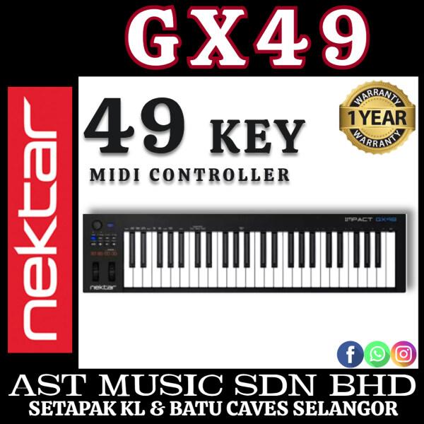 Nektar Impact GX49 49-Key Midi USB Controller Keyboard ( GX-49) Malaysia