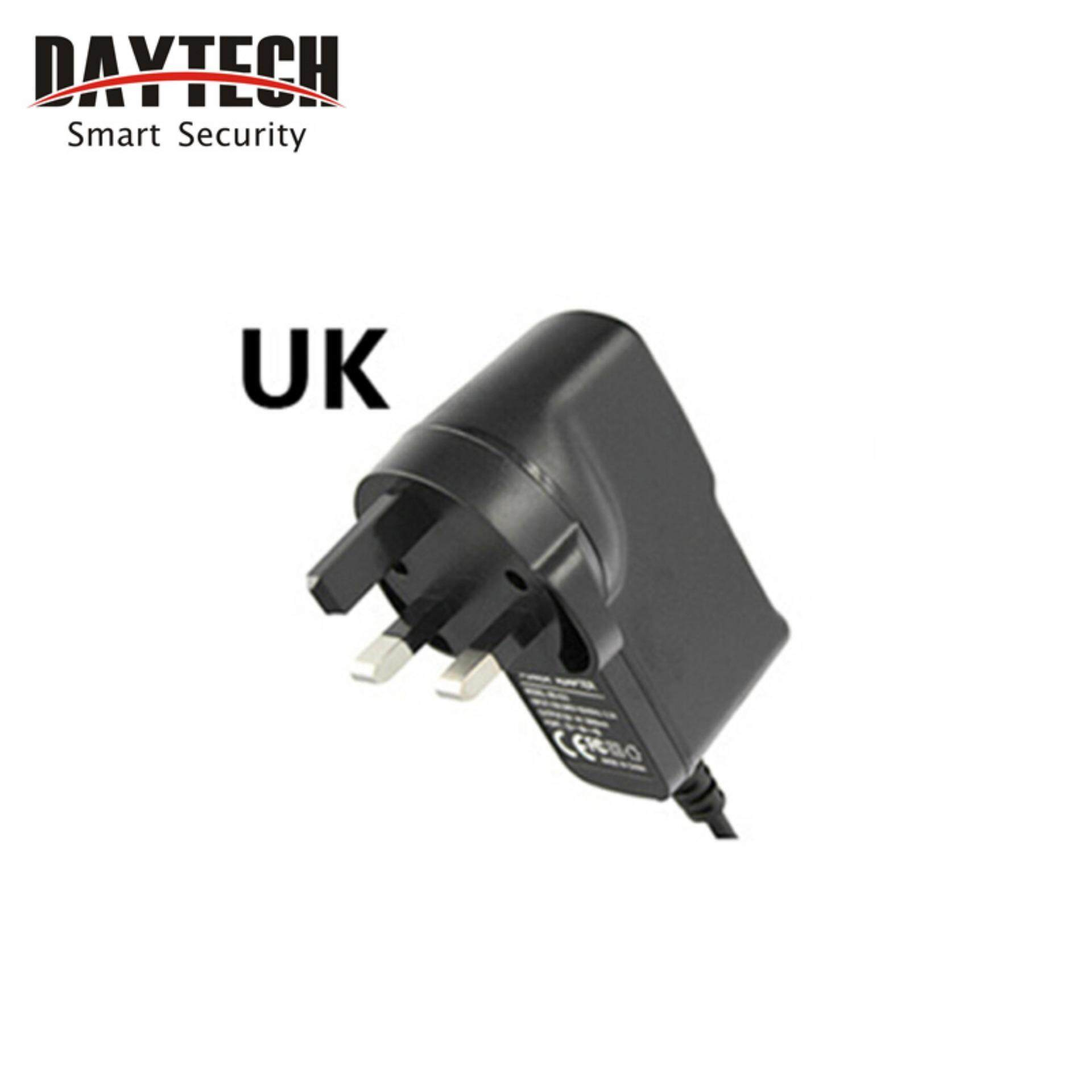 High Quality Overvalue Universal Uk Plug For Cctv Security Wifi Ip Camera For Dc 5v 2a Power Cable By Daytech Official Store.