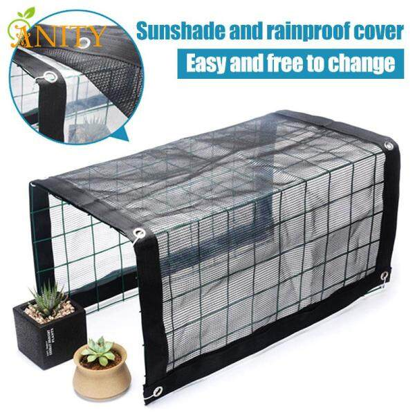 ANITY Multifunctional Mini Greenhouse Portable Outdoor Plant Shelves Canopy Rain-Proof Summer Awning