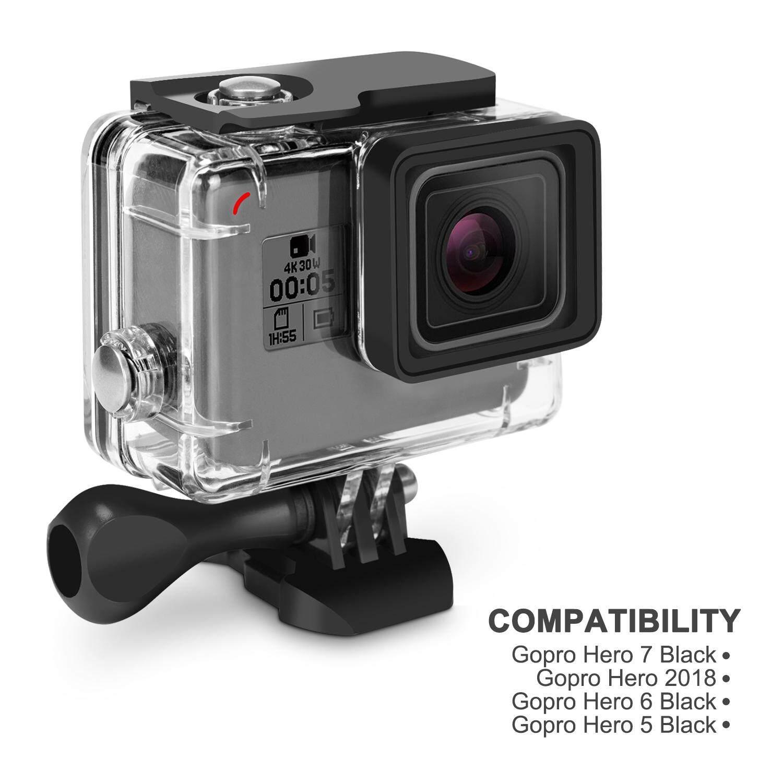 Kupton Accessories for GoPro Hero 7/6 Hero 2018 Action