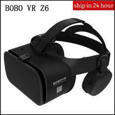 Amorus BOBO VR Z6 Bluetooth Không Dây Kính Thực Tế Ảo 3D Video Kính Tai Nghe Cho Trò Chơi Di Động Âm Thanh & Video