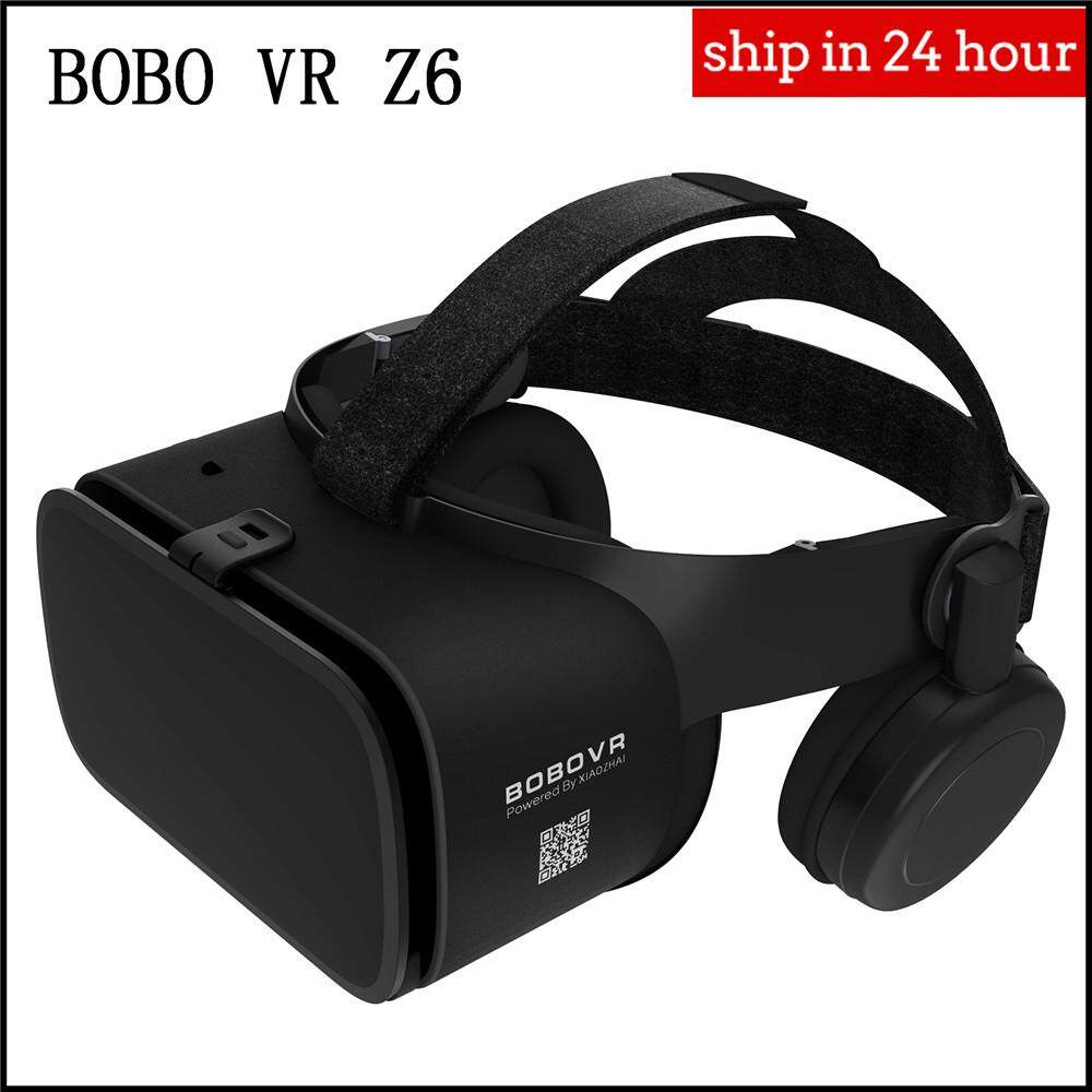 Bobo Vr Z6 Bluetooth Wireless Virtual Reality 3d Video Glasses Headset For Mobile Game Audio And Video.