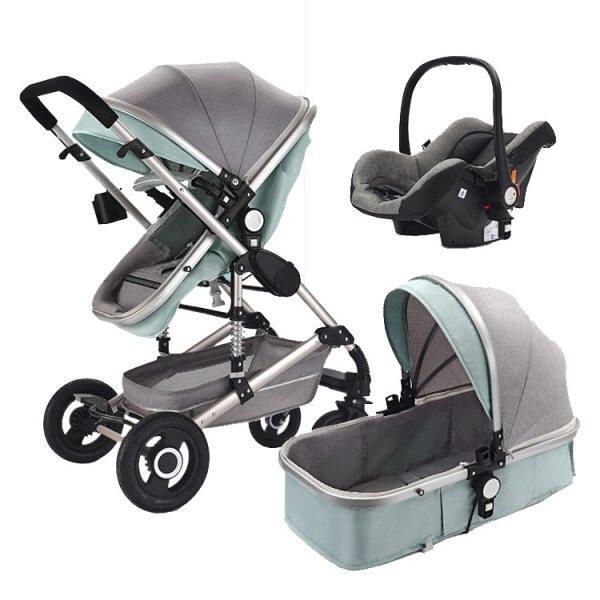 Baby Stroller 3 In 1 Pram With Car Seat Travel System Baby Stroller With Car Seat Newborn Baby Comfort Car Seat 0~36 Months Singapore
