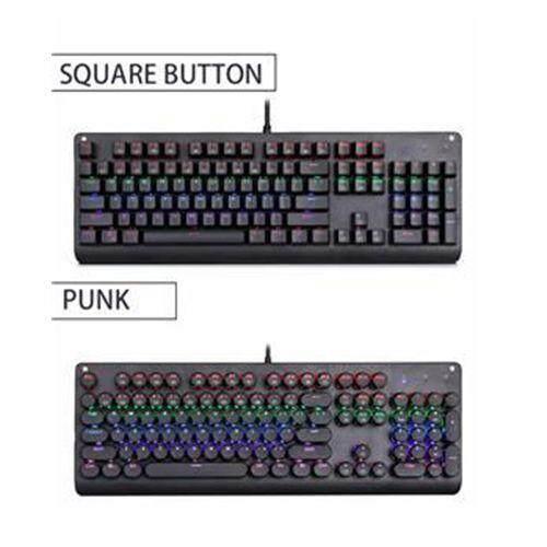 78b9686a8b5 CACTUS E-ELEMENT Mechanical Keyboard K9999 B&T LED Backlit Wired Gaming  Keyboard Extra-Thin