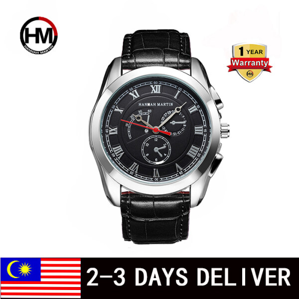 HANNAH MARTIN Sports Watch for Men Tonton Original Europe and The United States and Leisure Waterproof Belt New Quartz D with Calendar Watch Male Malaysia
