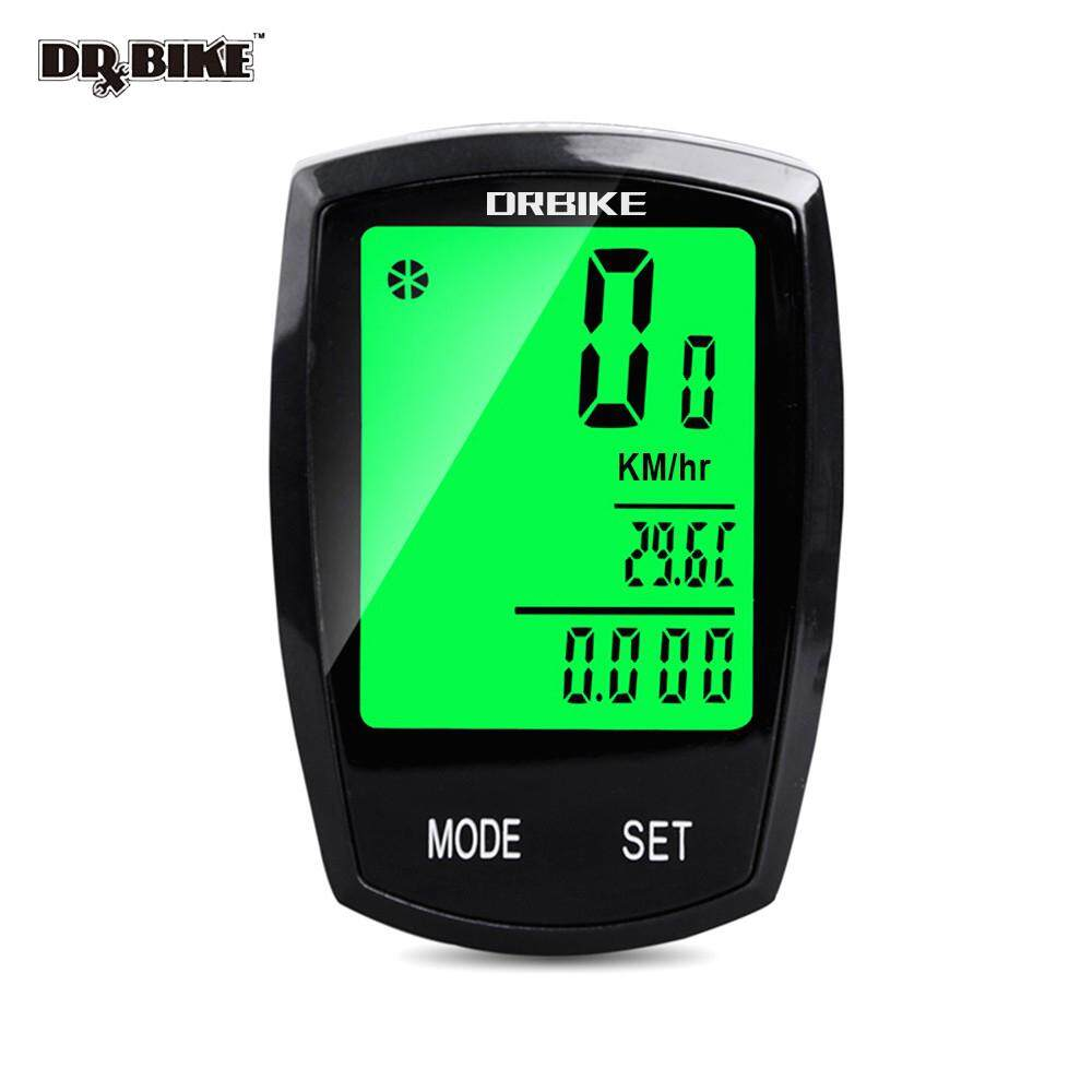 DRBIKE Bicycle Computer Wired Wireless Speedometer with 13 Functions for  Mountain Bike and Road Bike LCD Screen Backlight