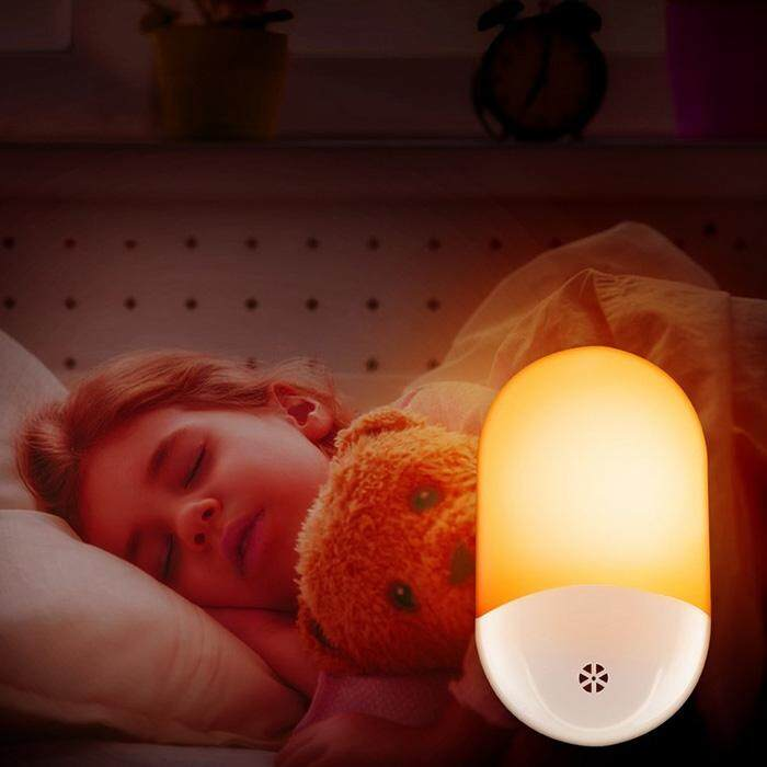 Led Lamps Cheap Price Mini Novelty Heart Light Sensor Control Night Light Bedroom Lamp For Baby Gift Romantic Colorful Lights Home Decor Us Plug To Be Distributed All Over The World