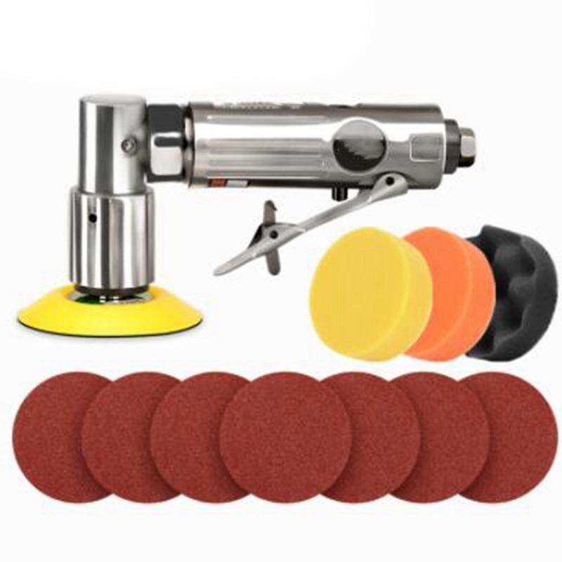 14Pcs 3Inch 80Mm New Random Air Palm Sander Car Polisher Buffer Pad Sanding Sets for Car Polishing Buffing and Do Waxing