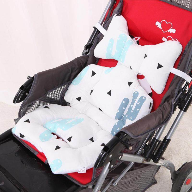 Stroller Baby Infant Fashion Printed Cushion Seat Head Body Support for Stroller Accessories Singapore