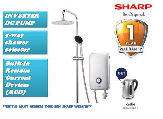 SHARP DC PUMP INVERTER HOME SHOWER WHP-315RN