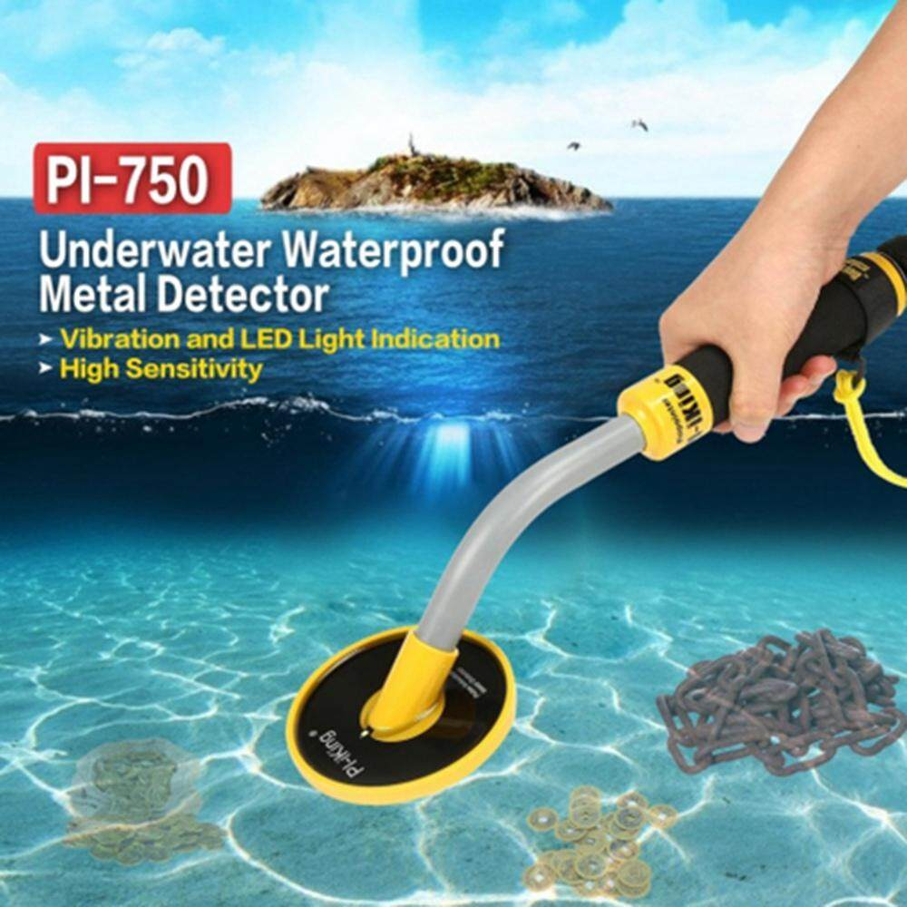 Treeone Pulse Induction 750 Underwater PinPointer 30M Fully Waterproof  Metal Detector with Vibration LED