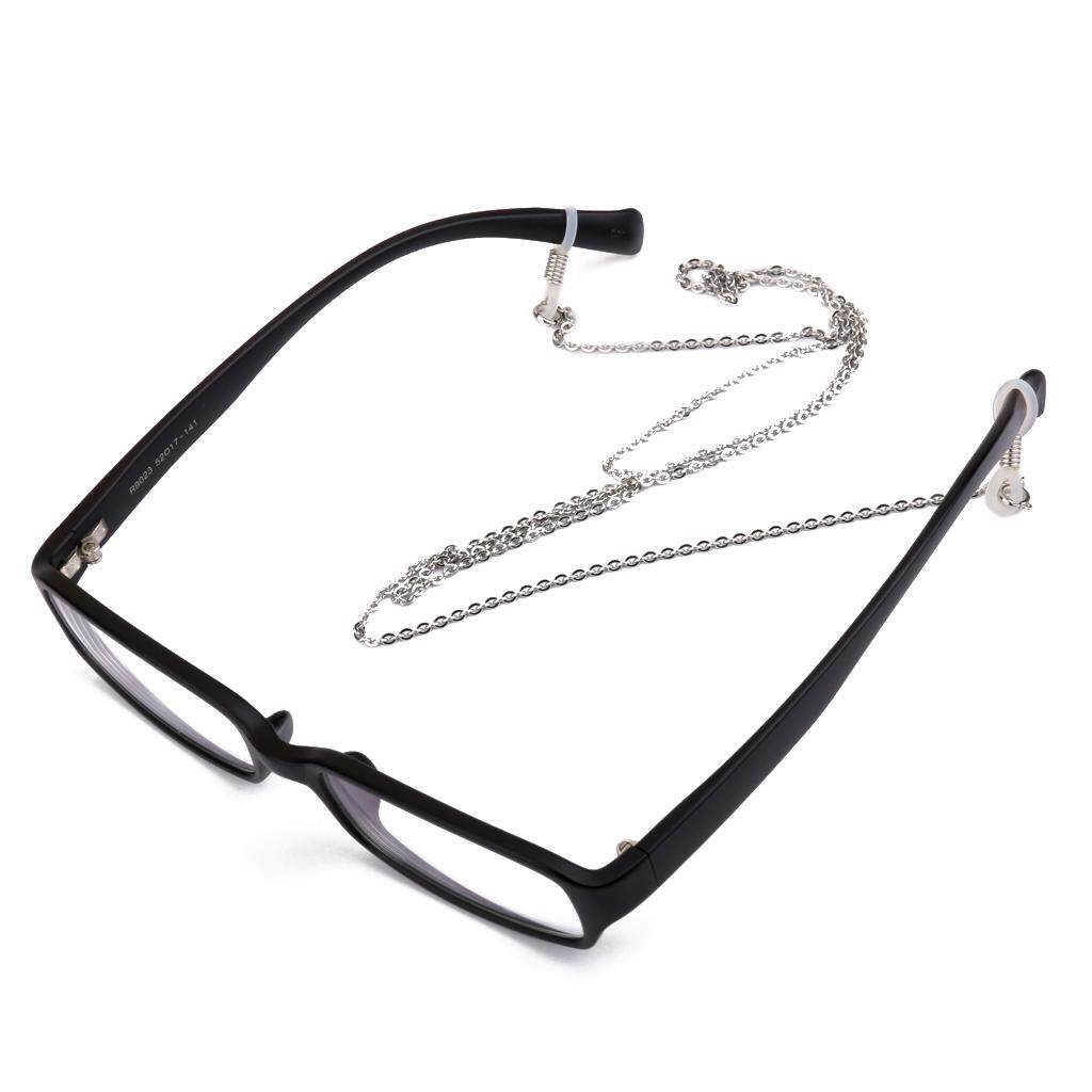 0f8658b63103 GuangquanStrade Steel Silver Reading Glasses Spectacles Sunglass Holder  Rolo Chain Neck Cord
