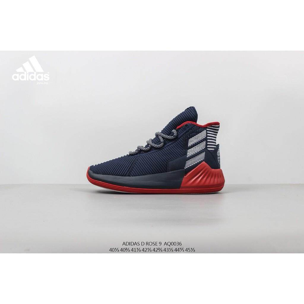 6b5e0d59daa Adidas D Rose 9 Mens fitness Shockproof basketball shoes competition  training