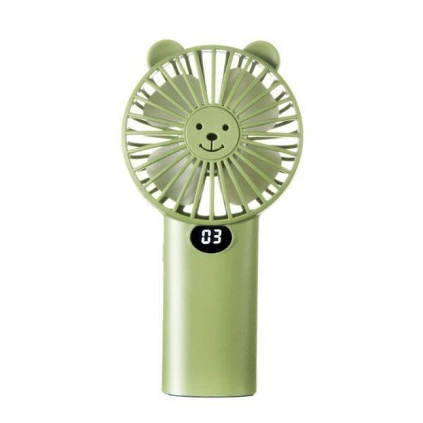 Bảng giá USB Có Thể Sạc Lại 3 Tốc Độ Pocket Fan Quạt Cầm Tay Bàn Với Bánh Răng Dung Lượng Pin Hiển Thị Không Khí Làm Mát Quạt Cá Nhân Phong Vũ